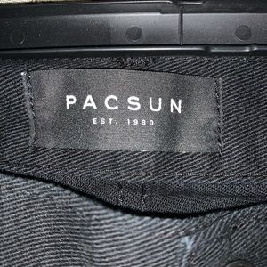 Pacsun Jeans black used.